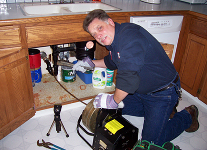 Kitchen Drain Plumbing Services