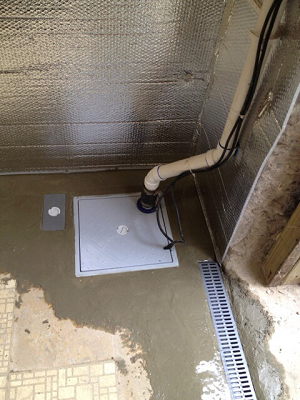 sump pump installations